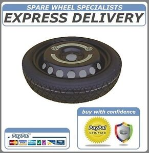 VOLKSWAGEN VW TOURAN SPACE SAVER SPARE WHEEL 16