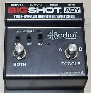 Radial Bigshot ABY Amp Switcher Pedal in Excellent Condition!