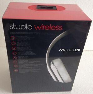 Dr Dre STUDIOS 2.0 WIRELESS BLUETOOTH BEATS ~ WHITE ~ SEALED London Ontario image 5