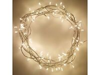Indoor Fairy Lights with 100 Warm White LEDs