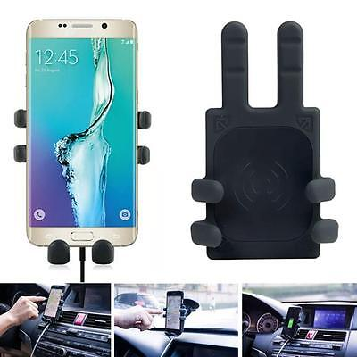 Qi Wireless Car Charger Transmitter Holder For Samsung Galaxy S6 Edge Plus/Note5