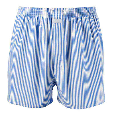 Jockey Mens Cotton Woven Striped Boxer Short Underwear
