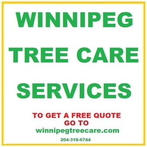 ★WINNIPEG Tree Care Services -> We Do It All - FREE Quote!