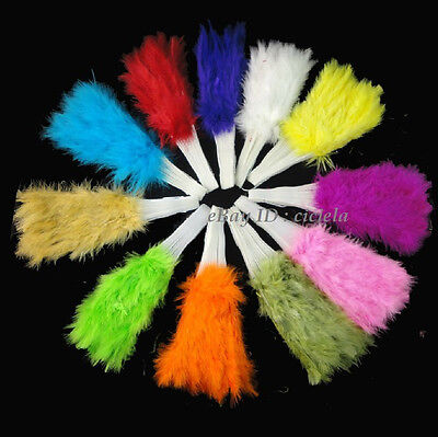 New Feather Fan Fluffy Lady Burlesque Wedding Hand Dress Costume Dance Supplies