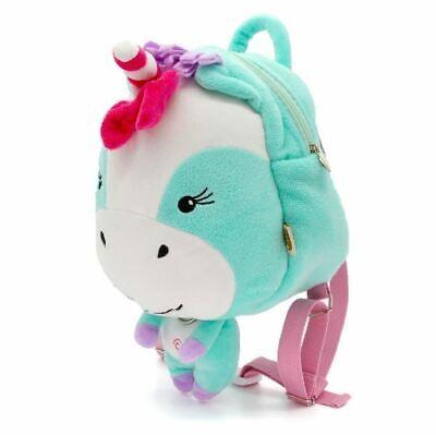 plush unicorn toddler reins backpack anti lost