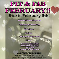 FREE FIT & FAB FEBRUARY!