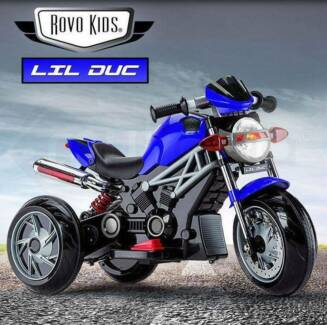KIDS Electric Ride On Motorbike - Toy Motorcycle Bike Battery New
