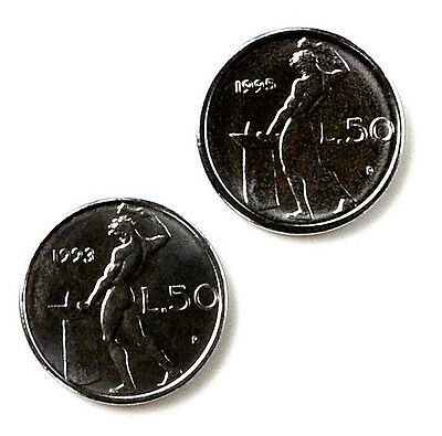 Italy Coin Cufflinks