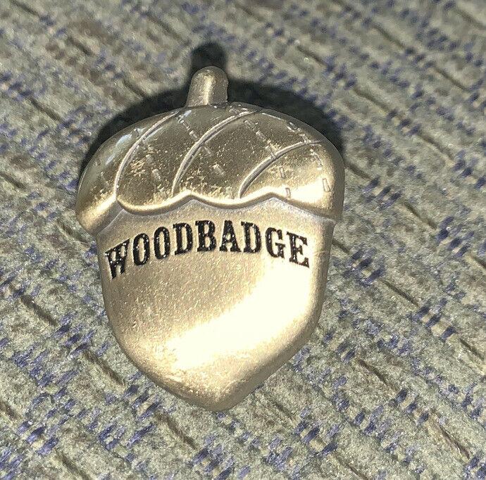 Older Boy Scout Woodbadge Acorn Pin Ogden Utah BSA