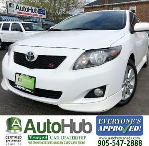 2010 Toyota Corolla S-LEATHER-SUNROOF-HEATED SEATS
