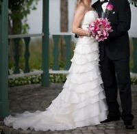 Haute couture - robe de mariée Simone Carvalli