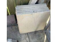Garden slabs 8 available 600/600