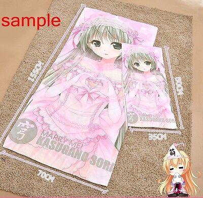 80cmx35cm Hatsune Miku Hand Towel Soft Towel Microfiber Sport Beach Hammam