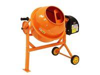 Electric Cement Mixer - Brand new, Boxed & sealed 63L Litre Portable, Plaster, Concrete