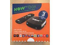 Brand New Now TV Box