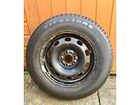 VW Golf Mk4 14inch Wheel and Tyre