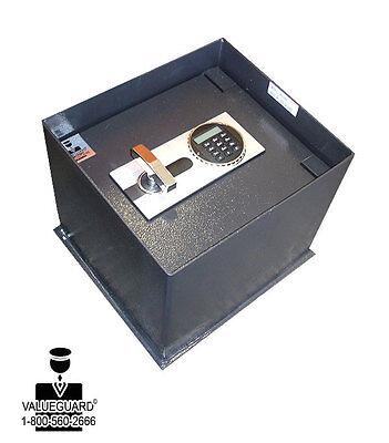 """Floor Safe Electronic Money Gun Safes Digital 1/2"""" Door REAL SECURITY!"""