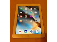 Apple iPad 4th Generation (wifi only) 16gb White