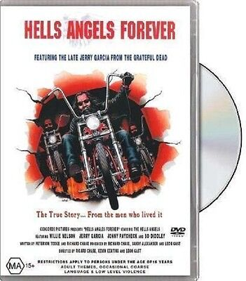 HELLS ANGELS FOREVER DVD Biker Video True Story New Sealed 85 Minutes