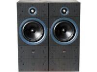 B&W Matrix 2 speakers, Pair (1 requires repair)