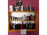 Large Collection of High End Vaping Hardware Looking for Nikon DSLR