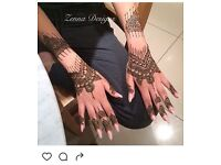 Professional henna artist with many years of experience