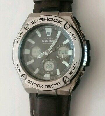 Casio G-Shock GST-S130L-1A Man's Watch Casual Military Army Sports