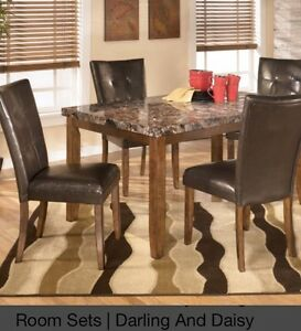 """""""Lacey"""" dining room set from Ashley furniture"""