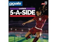 Women football players wanted for 5 a side team
