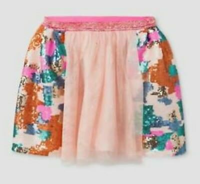 Girls Youth Cat & Jack Multi-Color Sequin Skirt/Tutu Select Size (1933) - Color Tutus