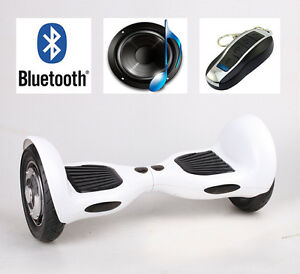 "Brand New 10"" Hoverboard with Bluetooth Speaker & Remote Control"