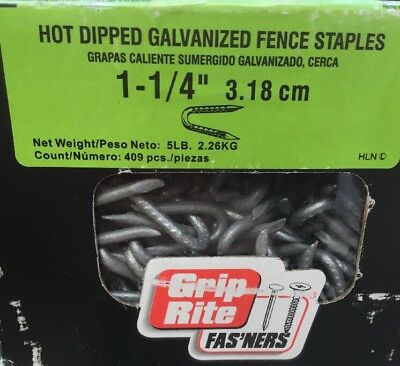 Fence Staple 1-14 Hdg 5 By Grip Rite Free Ship