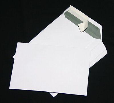 50 St. Versandtaschen, Briefumschläge C5/A5 weiß Haftklebend 162 x 229 mm
