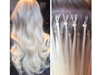 Micro loop hair extensions AAA Russian remy. From £50
