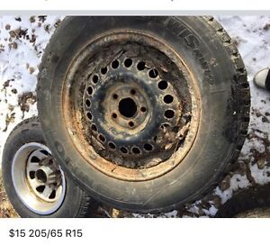 $10 tires or $15 on rim
