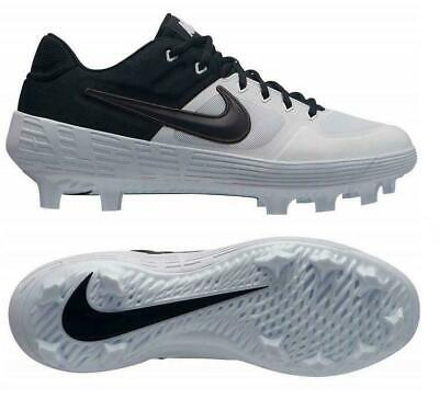 Nike Alpha Huarache Elite 2 Low MCS Molded AO7961 102 Baseball Cleats white Nike Huarache Elite