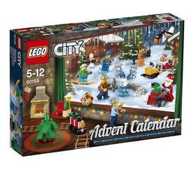 Lego City 60155 Advent Calendar (2017)