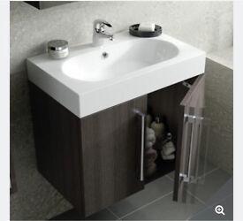 Novum bathroom sink basin