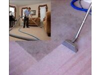 ** 50% OFF S-B CARPET CLEANING & UPHOSTERY STEAM CLEANING SERVICE **