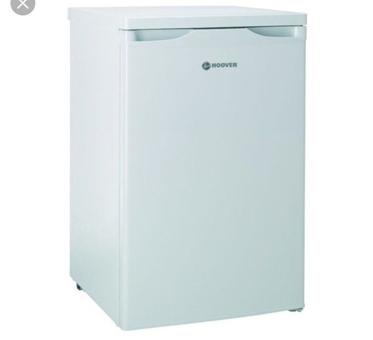 NEW GRADED !!! HOOVER HFLE54W UNDERCOUNTER FRIDGE IN