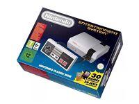 Nintendo mini nes, new unopened,