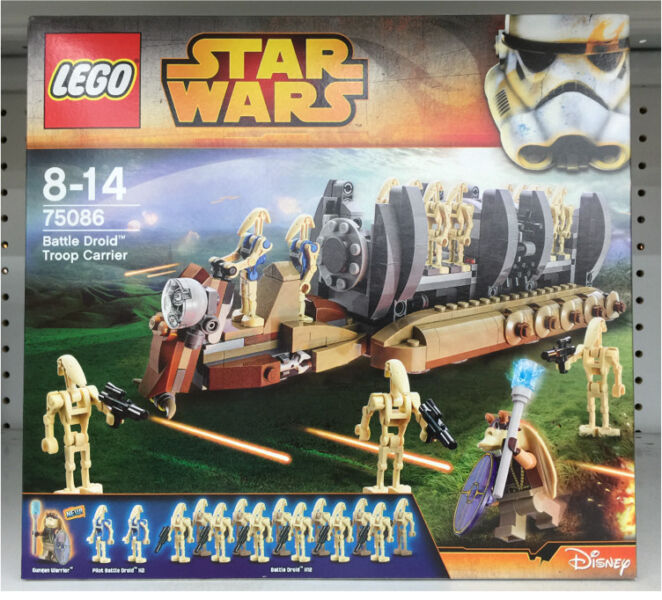 Lego Star Wars 75086 Battle Droid Troop Carrier | Collectables ...