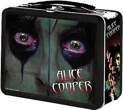 Alice Cooper Embossed Lunchbox