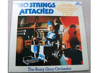 "THE BARRY GRAY ORCHESTRA: NO STRNGS ATTACHED. 10"" ALBUM 1985"