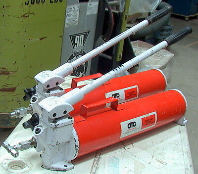 Owatonna Tool Otc Power Team Series P158 M A 2-speed Hydraulic Hand Pump 10k