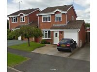 3 Bedroom Detached House for sale in Woodville, Swadlincote £162,950 ono