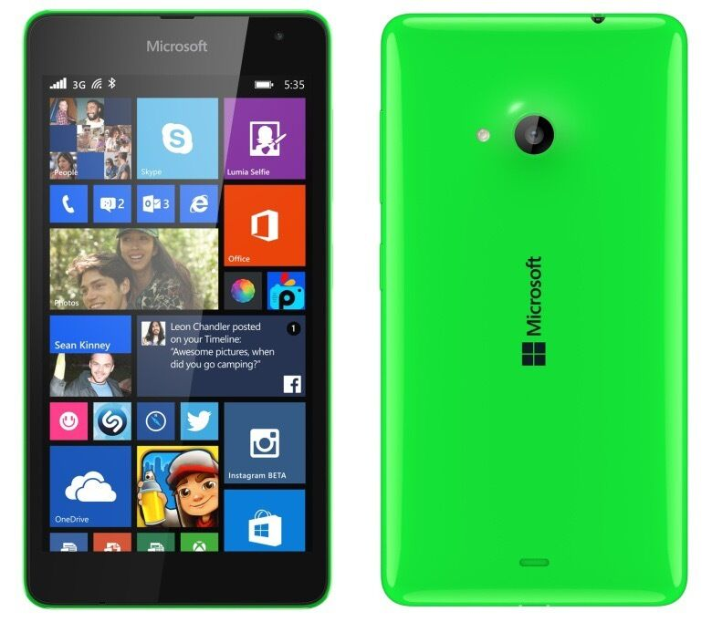 NOKIA LUMIA 535 MICROSOFT SMARTPHONE GREEN,UNLOCKED TO THREE,MINT CONDITIONin Eccles, ManchesterGumtree - HERE I AM SELLING A NOKIA LUMIA 535 MICROSOFT SMARTPHONE 8GB GREEN, UNLOCKED TO THREE, MINT CONDITION, COMES WITH USB AND CHARGER PLUG CASH ON COLLECTION CAN DELIVER FOR FUEL COST
