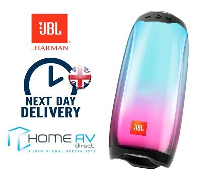JBL Pulse 4 - Portable Bluetooth Speaker,IPX7 Water With LED Light Show  - Black