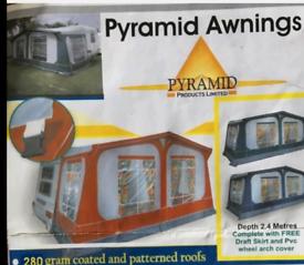 5 Birth Caravan Tuscany Pyramid Aweing. Model 601050.