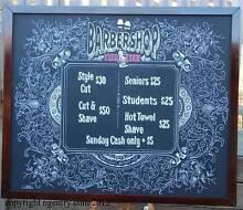 menu boards chalkboards artist A frames specials boards Beenleigh Logan Area Preview